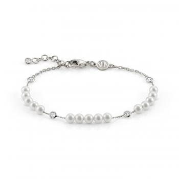 Nomination  Armband BELLA   Weisse Perle 146604/013