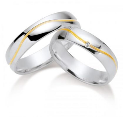 Gold und Silber Eheringe bei Deine-Ringe.de kaufen