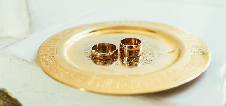 Dreifarbige Trauringe - moderne Ringe im coolen Materialmix