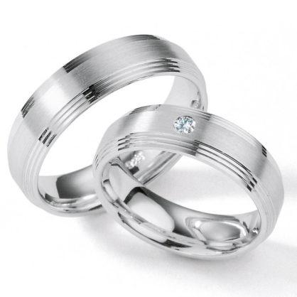 Partnerringe aus Silber