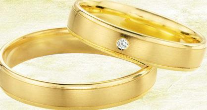 Gelbgold-Eheringe - die zeitlos schönen Klassiker